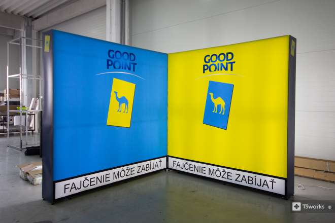 Podsvietené steny Good Point