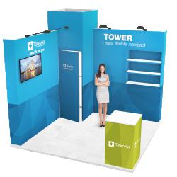 Stánok tvaru L - Tower